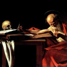 Caravaggio_Sao_Jeronimo_escrevendo
